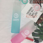 KPOP GOT7 Water Cup NEVER EVER Glass Bottle Gradient Frosted Drink JB Bambam