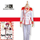 Anime Return Of Kings Red Group Suoh Mikoto Military Uniform Cosplay Costume