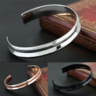 Gold-plated Stainless Steel Lady Cuff Bangle Jewelry hair tie Bracelets