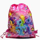 Lot cartoon Non-Woven Fabric Drawstring Bags Backpack  children Party Gift P898