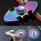 Glow in the Dark Hand Finger Spinner Tri-Spinner Fidget Spiral Stress Funny Toy@