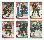1993-94 UPPER DECK VANCOUVER CANUCKS Select from LIST SERIES 2 HOCKEY CARDS