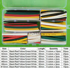 DIY Set Polyolefin 2:1 Heat Shrink Tubing Assorted Cable Wire Sleeve Combo Kit