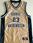 GEORGE WASHINGTON COLONIALS MENS BASKETBALL JERSEY NCAA #23 NEW! MEDIUM OR XL