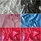 Shiny PVC Vinyl Pleather Gothic Fetish Pitch By The Yard
