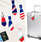 Flag Tie Travel Name ID Tag Suitcase Luggage Baggage Bag Strap Label Holder