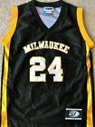 WISCONSIN-MILWAUKEE PANTHERS YOUTH BASKETBALL JERSEY #24 YOUTH S, M, OR L