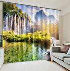 3D Waterfalls 46 Blockout Photo Curtain Printing Curtains Drapes Fabric Window