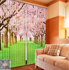 3D Trees Flowers 5 Blockout Photo Curtain Printing Curtains Drapes Fabric Window