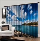 3D Pretty Sea 6 Blockout Photo Curtain Printing Curtains Drapes Fabric Window AU