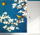 3D Flower Bird retro art 0503 Wall Paper Wall Print Decal Wall Deco AJ WALLPAPER