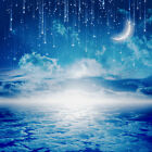 Blue Nightsky&Moon Ceiling WallPaper Murals Wall Print Decal Deco AJ WALLPAPER