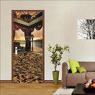 3D Pavilion 249 Door Wall Mural Photo Wall Sticker Decal Wall AJ WALLPAPER AU