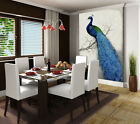 3D Peacock Parked In Branches 27 Wall Paper Wall Print Decal Wall AJ Wall Paper