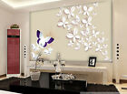 3D White butterfly 354 Wall Paper Wall Print Decal Wall Deco Indoor wall Murals