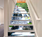 3D Flowers Falls 41 Stair Risers Decoration Photo Mural Vinyl Decal Wallpaper UK
