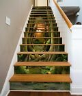 3D Forest Animals 1 Stair Risers Decoration Photo Mural Vinyl Decal Wallpaper UK