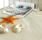 3D Starfish Shell Beach Floor WallPaper Murals Wall Print Decal 5D AJ WALLPAPER