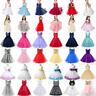 Flower Princess Dress Girls Kids Baby Party Wedding Pageant Formal Tutu Dresses
