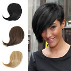 New Cute Short Side Bangs Clip On Front Bang Side Fringe Clip In Hair Extensions