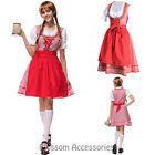 K217 Ladies Oktoberfest Costume Bavarian German Heidi Dirdnl Leiderhosen Beer