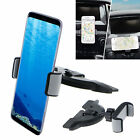 360° CD Slot Car Mount Holder Stand Universal for Samsung Galaxy S8 Plus iPhone