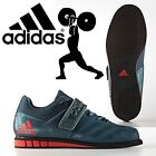 adidas Powerlift 3.1 Weight Lifting Shoes Mens Green Power Lifting Gym Trainers