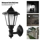 Solar Power Wall Mount LED Palace Light Outdoor Garden Path