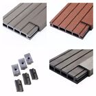 23 SqM of Wooden Composite Decking Inc Boards, Edging & Fixing Packs