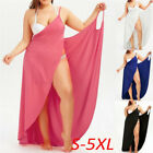 Women Party Summer Fashion Beach Bikini Wrap Cover Up Long Maxi Dress Plus Size