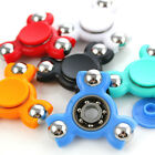 Tri Fidget Finger Hand Spinner Fingertip Gyro 608 Steel Ball Desk Toy ABS EDC
