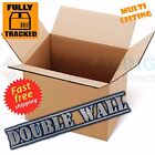NEW X-LARGE D/W REMOVAL MOVING CARDBOARD BOXES 18x18x12