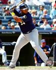 Jesus Aguilar Milwaukee Brewers 2017 MLB Action Photo UH201 (Select Size)