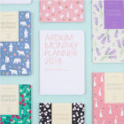 2018 Ardium Monthly Diary Planner Scheduler Schedule Book Journal Study Notebook