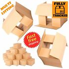 "6"" CUBE SINGLE WALL CARDBOARD MAILING BOXES 6X6X6"""