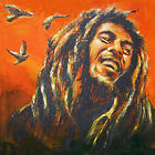 Bob Marley Painting Reggae music Artwork Canvas Giclee Print