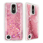 For LG K20 Plus/K20 V/Harmony Bling Glitter Sparkle Dynamic Liquid TPU Case