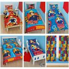 FIREMAN SAM BEDDING - SINGLE DOUBLE & JUNIOR DUVET COVER SETS BOYS BEDROOM