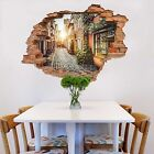 3D City Alley 175 Wall Murals Wall Stickers Decal Breakthrough AJ WALLPAPER AU