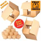 LARGE LOW DEPTH SW CARDBOARD POSTAL BOXES 18x12x3""