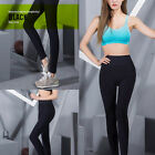 Womens Sport Running Pants Tights Yoga Leggings Knitted Pants Fitness Wear