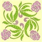 Anemone Quilt Squares 4-DESIGN 3-An Anemone Machine Embroidery Single In 4 sizes