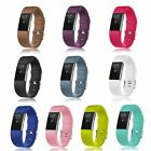 10-Pack S/L Classic Wristbands Band Strap Metal Buckle Band for Fitbit Charge 2