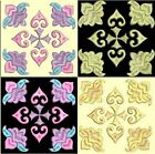 Anemone Quilt Squares 5-DESIGN 8-An Anemone Machine Embroidery Single In 4 Sizes