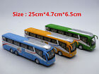 Luxury Tour Big Bus 1:55 Car Sound Light Model Toys X1PC Birthday Xmas Gift