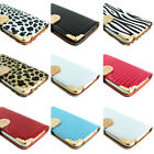 For Samsung Galaxy S5 Crocodile Bling PU Leather Wallet Flip Pouch Case Cover