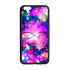 Infinite Love Infinity Case Cover for iPhone 8 8+ 7 Plus 6 Galaxy S8 S8+ S7 S6