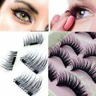 Beauty 3D Magnetic Wispies Natural Long Thick Soft False Eye Eyelashes Handmade