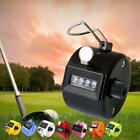 Mini 4 Digit Hand Held Tally Manual Click Counter Pressing Manual Golf Count BX