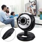 USB HD 5.0 Webcam 1.3M Web Cam Camera With Mic Microphone for Laptop Desktop BA